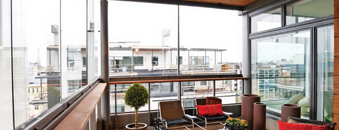 gold seri cam balkon sistemleri